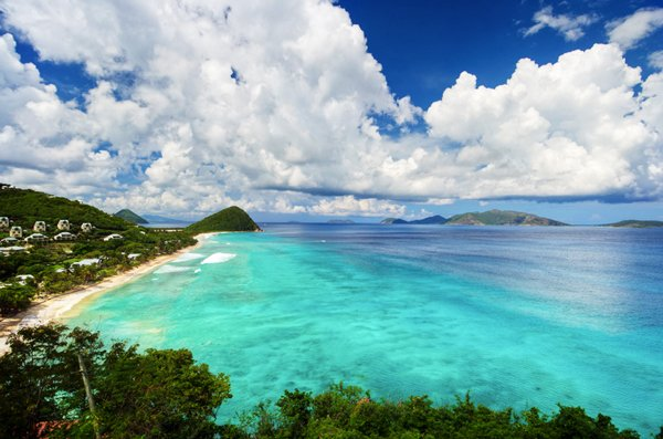 British Virgin Islands Long Bay Beach Resort Airline