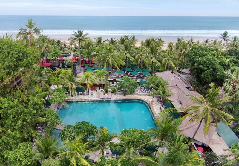 Bali the legian beach hotel airline staff rates for Hotels in legian bali