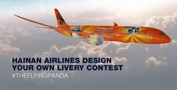 Design The Livery For A Boeing 787 Dreamliner Airline