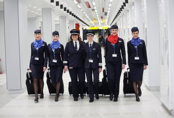 Air Serbia Makes History With First All Female In Flight