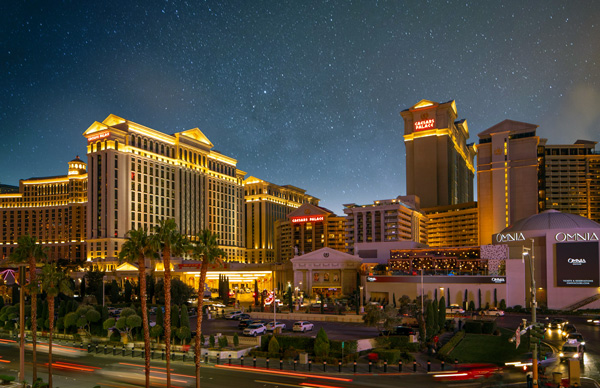 Caesars and Harrah's Hotels – up to 20% Airline Staff Discount