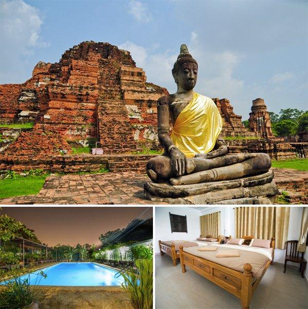 THAILAND Ayutthaya - Baan Tebpitak