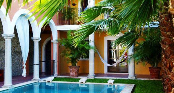 MEXICO, MERIDA - Hotel Hacienda Merida