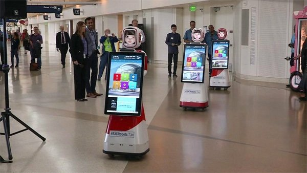 Sjcrobots Introducing Silicon Valley Airport S New