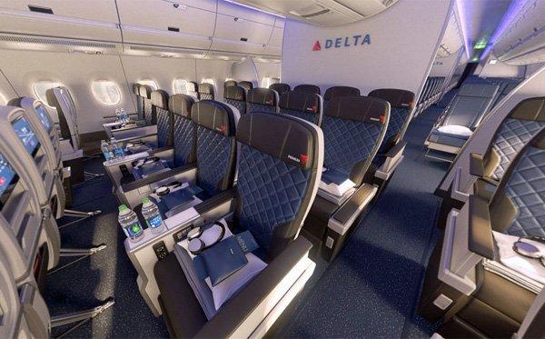Delta Adds Premium Economy Cabin Airline Staff Rates