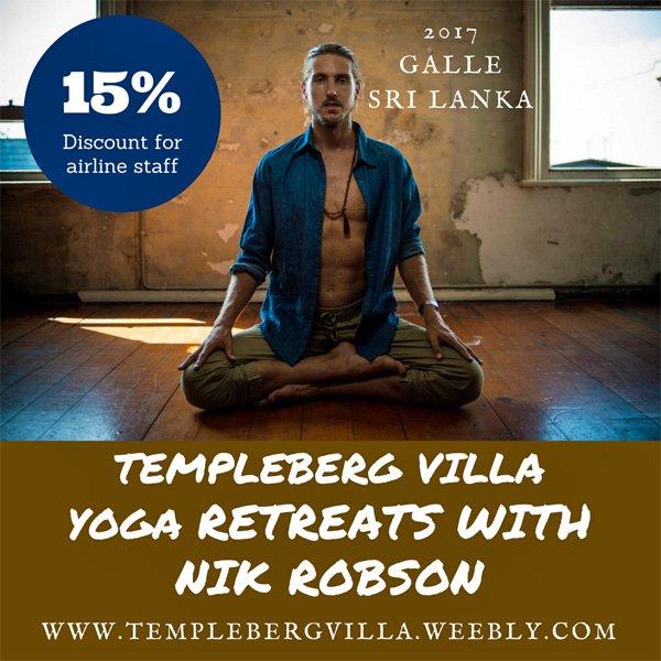 SRI LANKA – Templeberg Villa presents Bespoke Yoga Retreats
