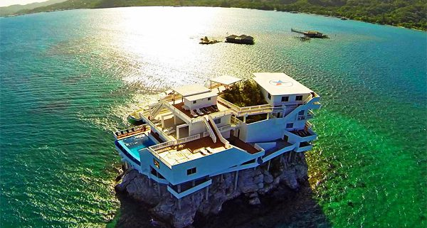 Villa on Dunbar Rock