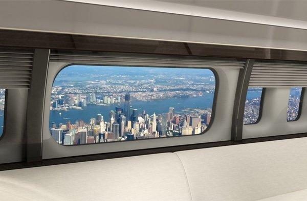 Largest-ever passenger jet window available on new BBJs, retrofit on existing BBJs