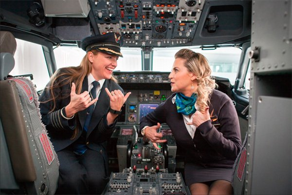 Share Your Spare Captain And Flight Attendant Return To