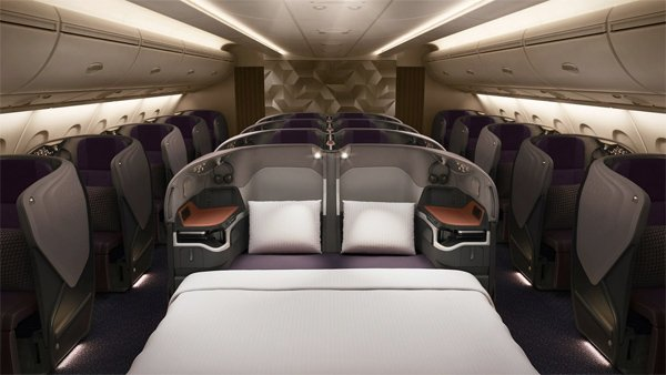 Singapore Airlines first A380 With New Cabin Products ...