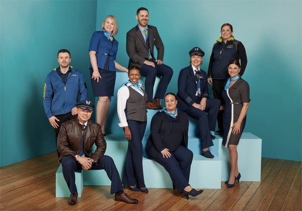 Alaska Airlines And Seattle Fashion Designer Luly Yang Unveil New Uniform Collection