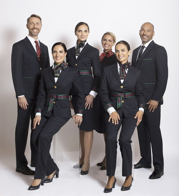 Cheap Car Insurance Alberta >> Alberta Ferretti presents the new Alitalia uniforms – Airline Staff Rates