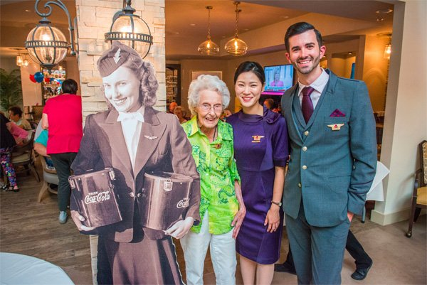 flying is special 102 year former flight attendant