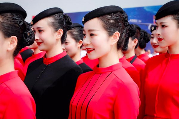 df408d749 Sichuan Airlines new Stylish Uniform Prior To Brand New A350 Arrival ...
