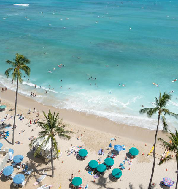 WAIKIKI Outrigger Resorts –  up to 31% Airline Staff Discount