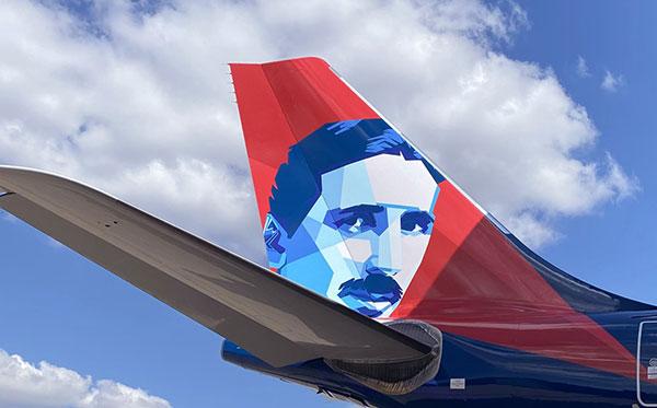 Air Serbia jet with Nikola Tesla's image soon in Belgrade