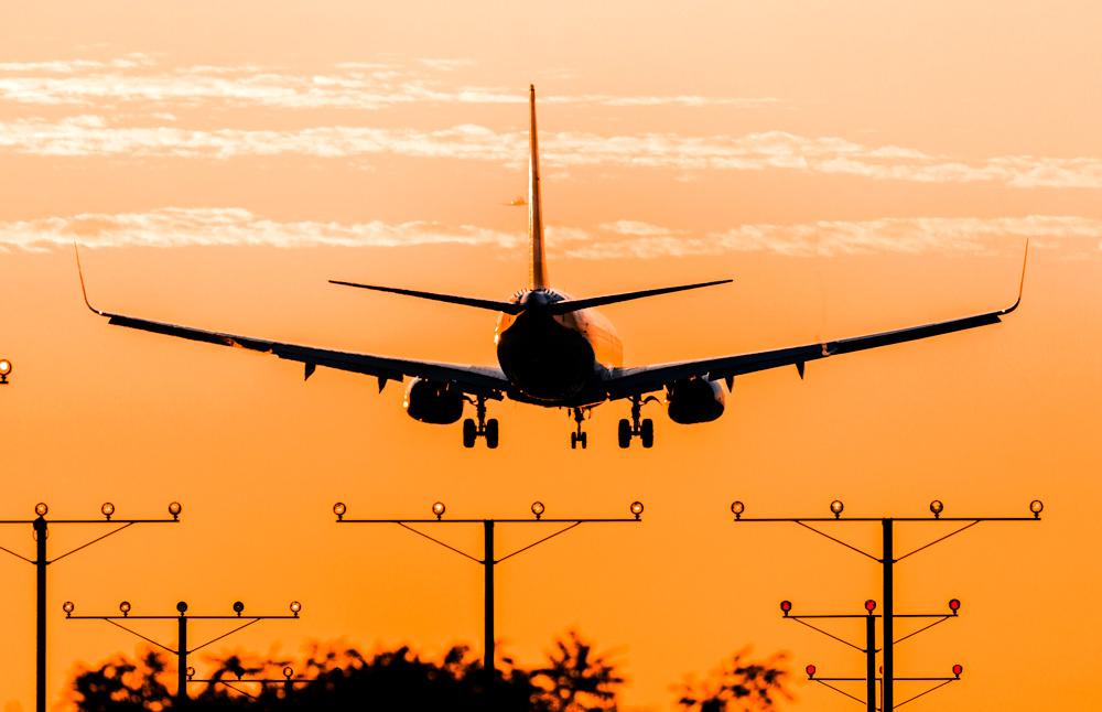 Airplane LAX