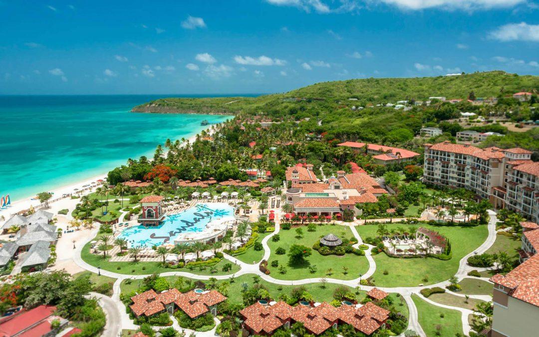 Antigua, Bahamas, Jamaica – Sandals Resorts